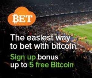 5 BTC Welcome Bonus from Cloudbet bookmaker