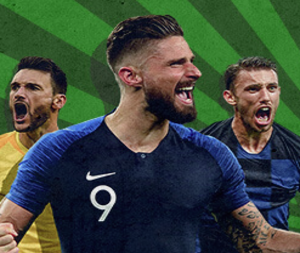 On the World Cup finals a £5 Free bet from Betway