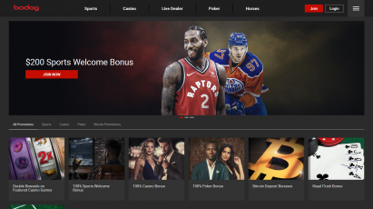 Bodog Bonuses and Promotions