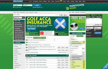 Paddypower betting home page