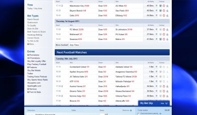 Skybet sports betting