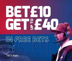 betfred super bowl welcome bonus