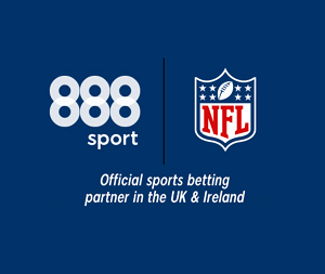 bookmaker 888sport official nfl betting partner