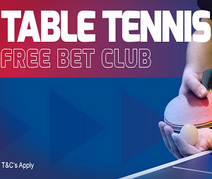 betfred table tennis promotion
